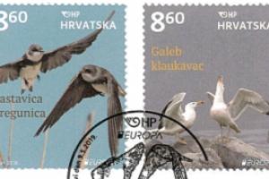 Prigodno izdanje EUROPA – Ptice