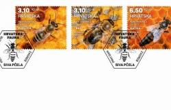 Pčele na poštanskim markama