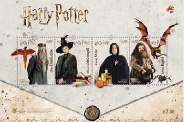 Portugalski CTT izdao seriju maraka na temu Harryja…